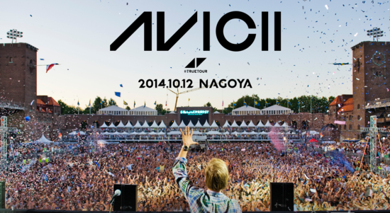AVICII  TRUE TOUR NAGOYA