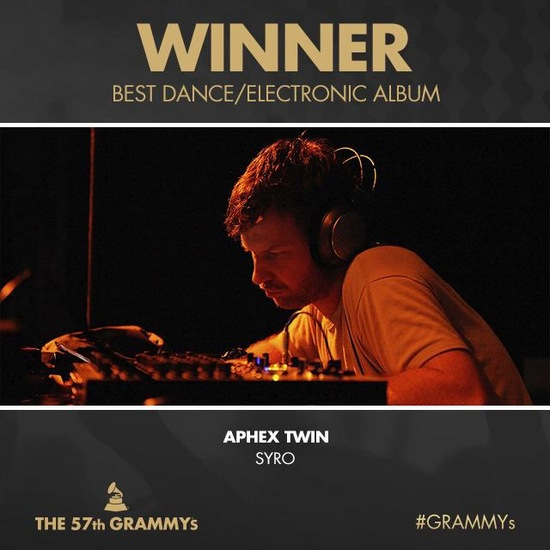 grammy57BEST DANCE/ELECTRONIC ALBUM