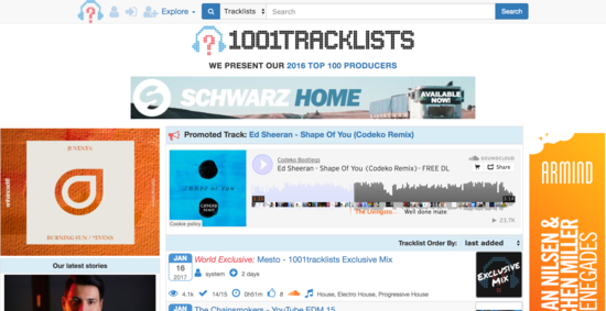1001Tracklists ⋅ The World s Leading DJ Tracklist Database ⋅ The Meaning Behind The Music