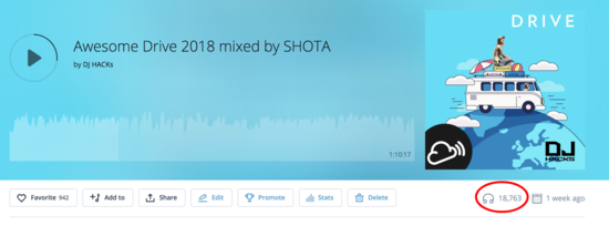 Awesome Drive 2018 mixed by SHOTA by DJ HACKs Mixcloud (1)